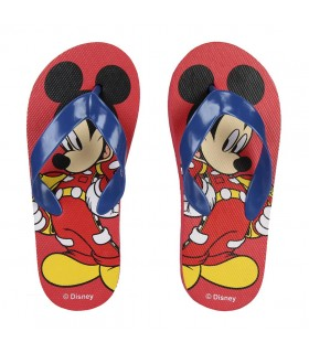 CHANCLAS MICKEY ROADSTER RED
