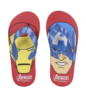 CHANCLAS AVENGERS RED