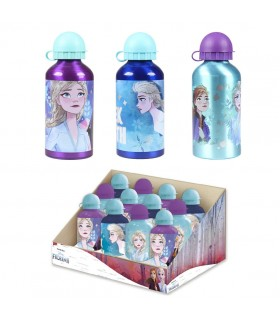 BOTELLA ALUMINIO DISPLAY FROZEN 2