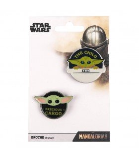 BROCHE THE MANDALORIAN THE CHILD