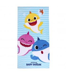 TOALLA ALGODÓN BABY SHARK