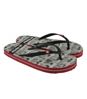 Flip flop one direction black MARLO'S - Negro