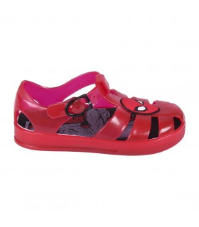 SANDALIAS PLAYA TRANSPARENTE SPIDERMAN
