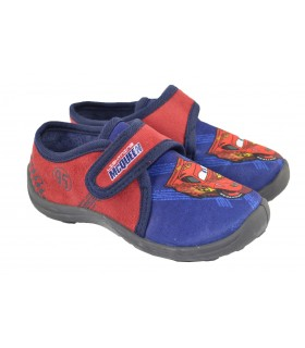 Zapatillas casa blue red cars MARLO'S (1)