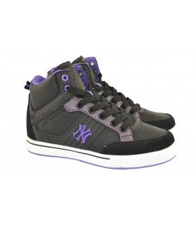 Zapatillas botin purple sunya NEW YORK YANKEES