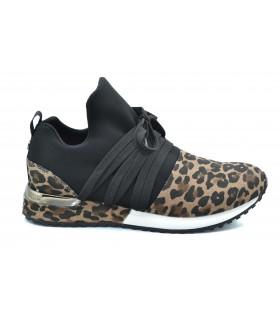Deportivas mujer LA STRADA Leopard