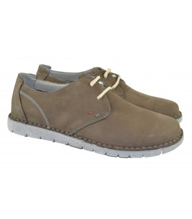 Zapatos de cordones piel light WALK AND FLY - Antracita