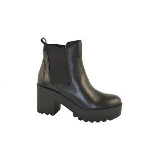 Botines piel black MARLOS FEELINGS