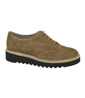 Zapatos oxford plataforma MARLOS FEELINGS - Vison