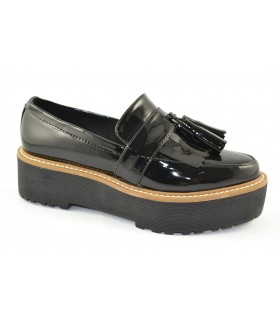 Zapatos casual patent plataforma SIXTYSEVEN