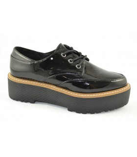 Zapatos casual oxford patent SIXTYSEVEN
