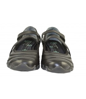 Bailarinas velcro relaxed fit negras SKECHERS (1)