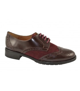 Zapatos oxford florentic MARLOS FEELINGS - Burgundy
