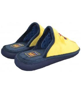 Zapatillas casa F.C.B amarilla ANDINAS
