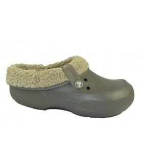 Zapatillas blitzen clog forrado CROCS (1)