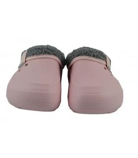 Zapatillas pink forro CROCS - Rosa