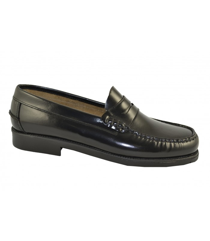 Mocasines florentic negros MARLOS FEELINGS - Color Negro