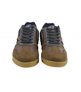 Zapatillas casual cordones top brown DUNLOP - Marrón