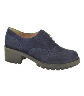 Zapatos serraje oxfords picados GIANNI ZENNA