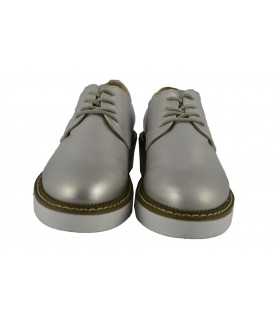 Zapatos oxford plata MUSTANG