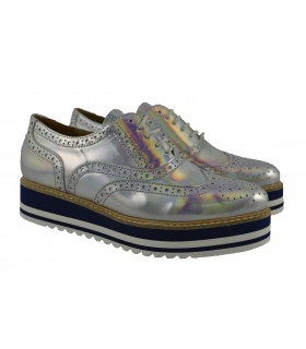 Oxfords spechio plata ALPE