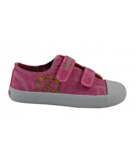 Canvas denim rosa peace PABLOSKY