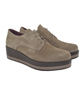 Oxfords plataforma bicolor MARLOS FEELINGS (1)