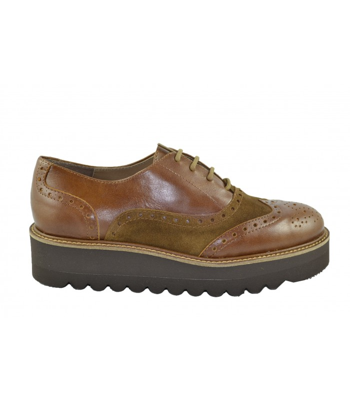 Oxfords mix cuero MARLOS FEELINGS (1)