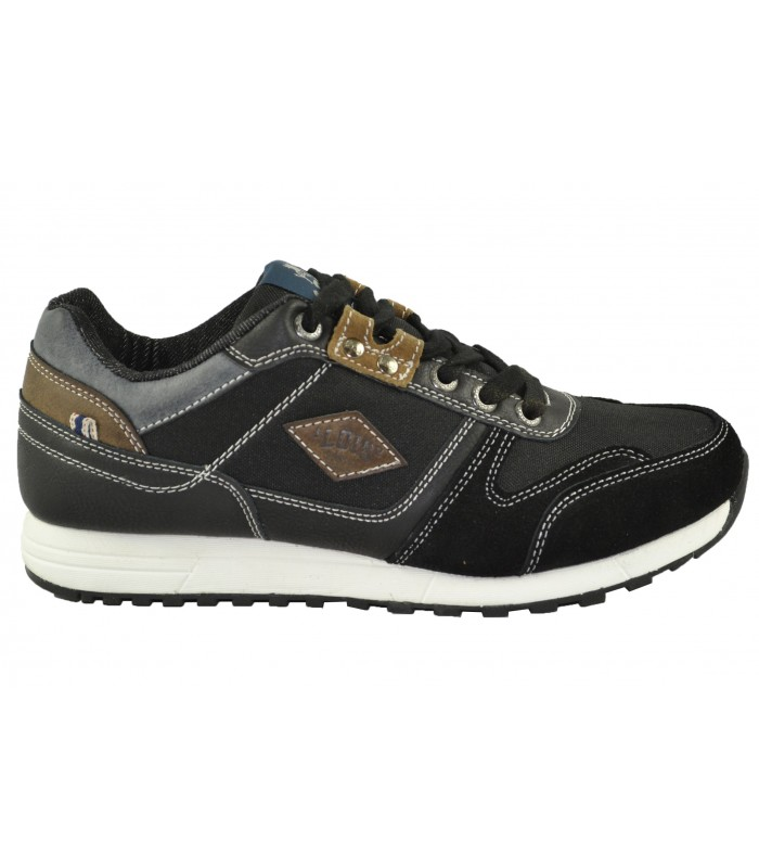 Zapatillas casual tex negras LOIS (1)