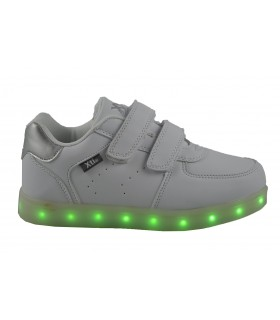 Zapatillas velcros leds XTI KIDS