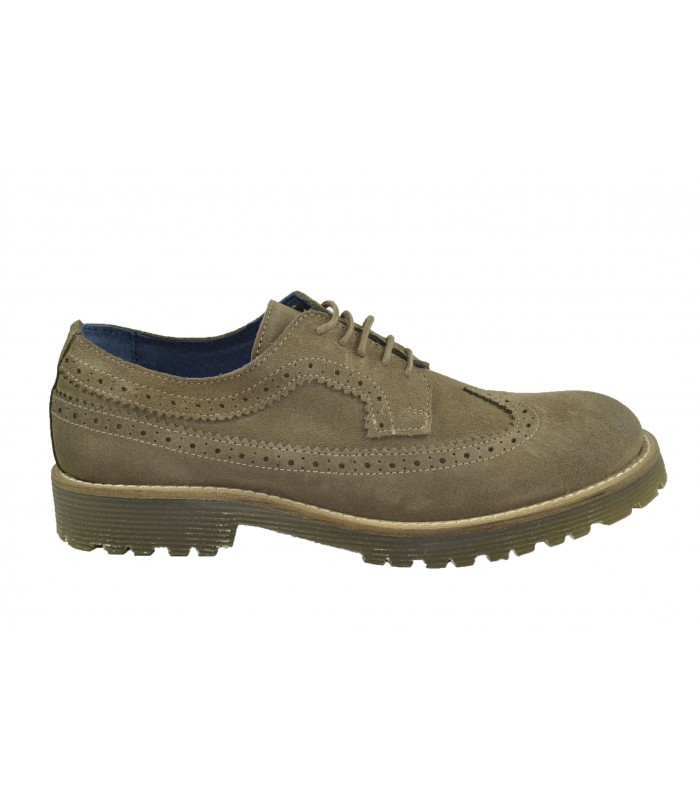 Zapatos oxford serraje BARBA NEGRA