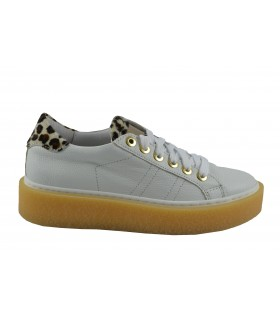 Sneakers ALPE pelo leopardo