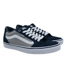 Canvas VANS Faulkner navy grey (1)