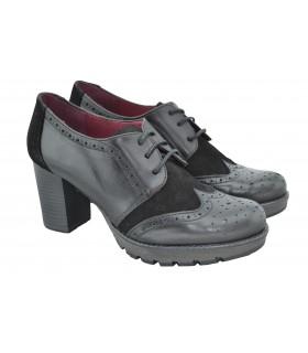 Zapatos tacon PATRICIA MILLER Cordones