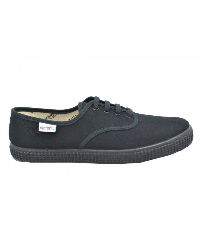 Zapatillas VICTORIA Lona Black