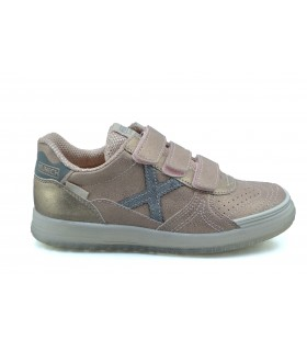 Deportivas MUNICH velcro Space rose