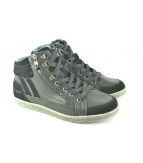 Zapatillas deportivas abotinadas negras PATRICK