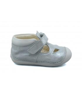 Zapatos velcro GEOX Tutim Silver