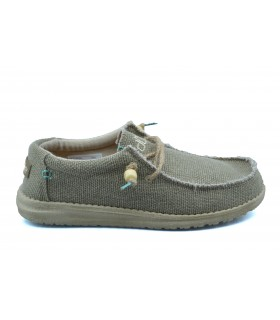 Zapatos casual hombre DUDE Wally Braided