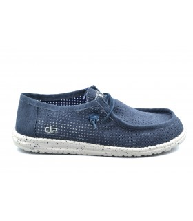 Zapatos casual hombre DUDE Wally Perforated Navy