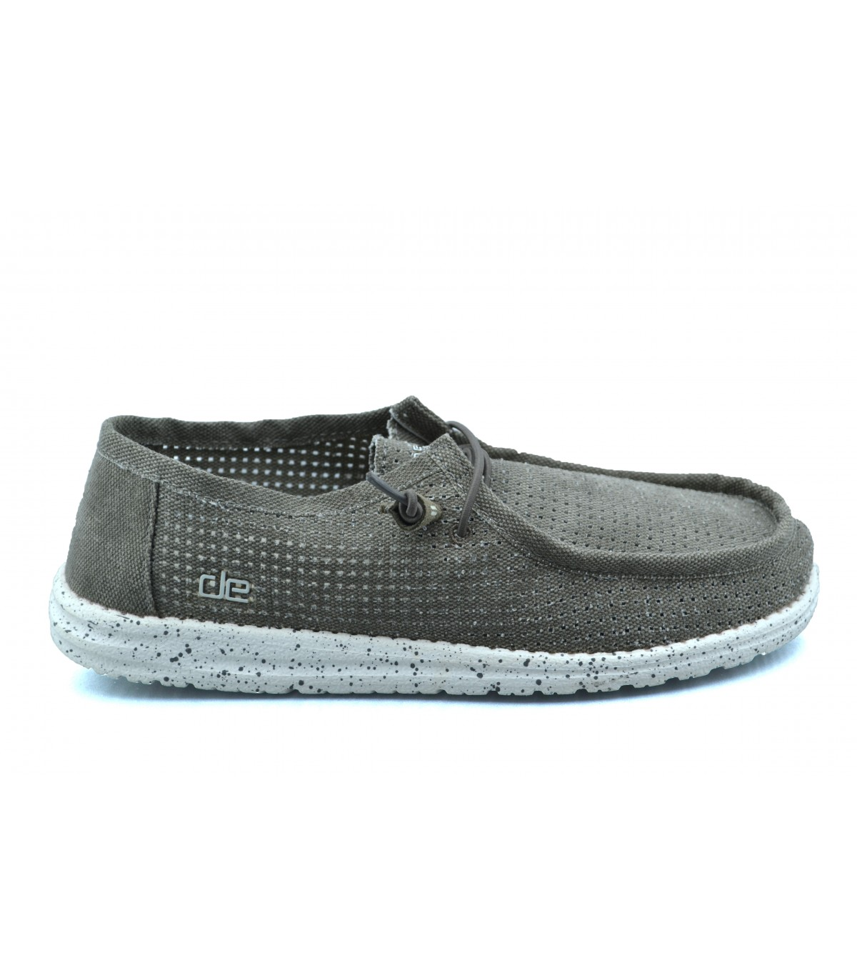 Tan Hombre Perforated Dude Zapatos Casual Wally A4j35RLq