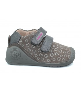 Zapatos velcro niña BIOMECANICS 191127C