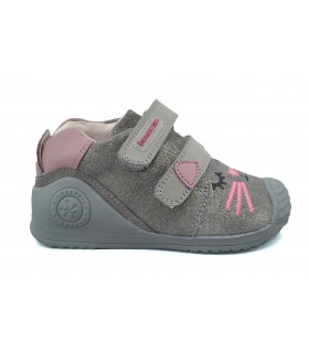 Zapatos velcro niña BIOMECANICS 191135