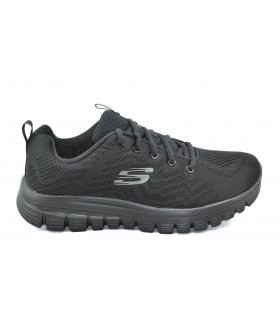 Deportivas mujer SKECHERS Get Connected All Black