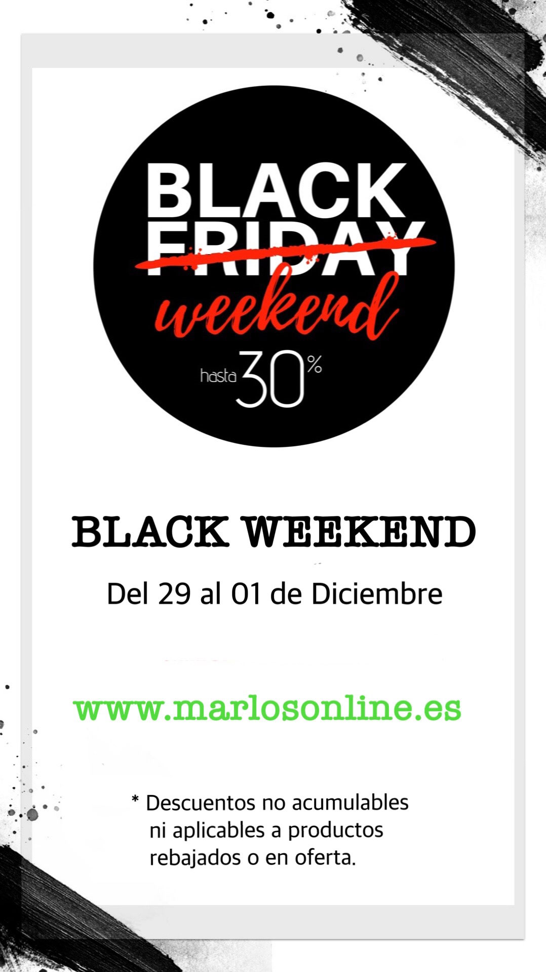 Black Friday | Marlo's Online
